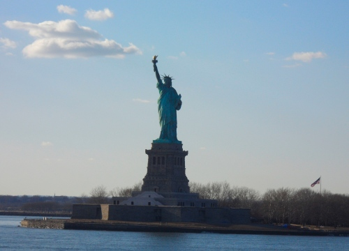Statue of Liberty View