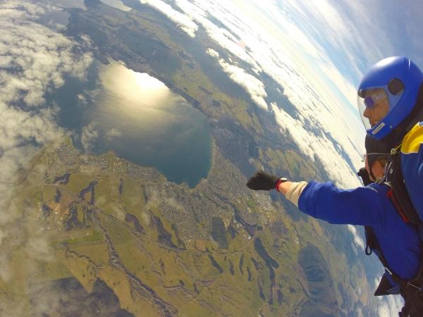 Skydive Taupo - Freefall2