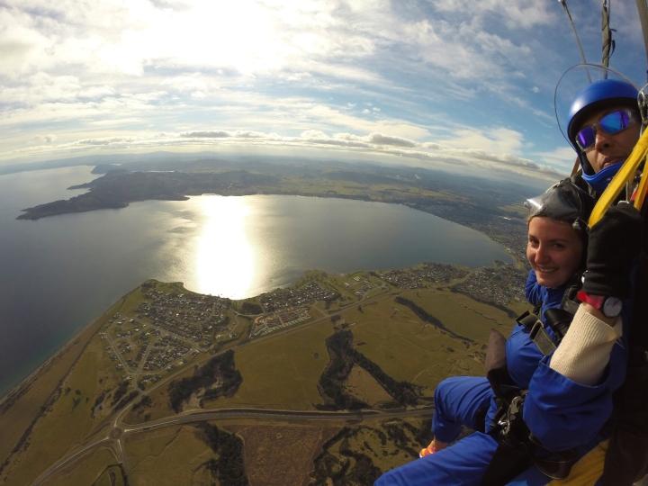 Skydive Taupo - Parachute