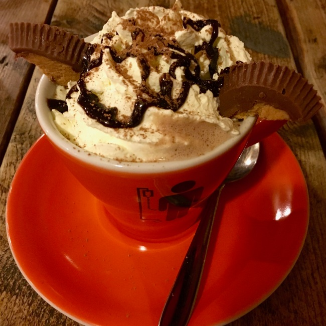 Caffeine Drip - Peanut Butter Hot Chocolate