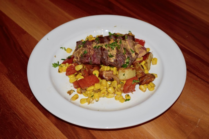 Steak with Chipotle Sauce2