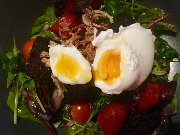 The Herringbone - Black Pudding, Chorizo & Egg Salad.jpg
