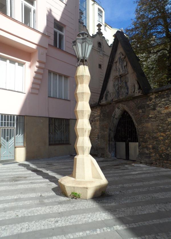 Cubist Lamppost