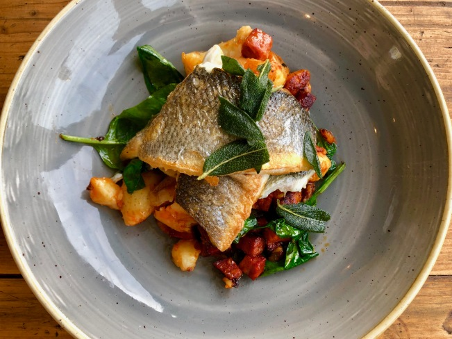 The Bothy - Seabass