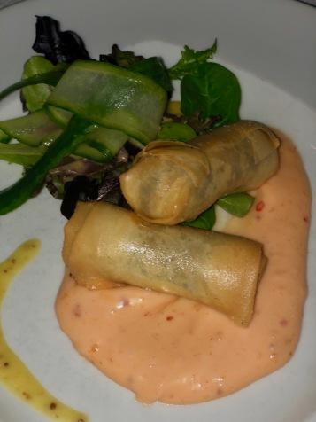 Mustard Seed - Haggis Spring Rolls