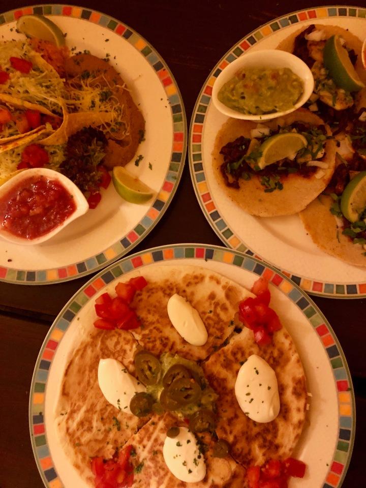quesadilla & tacos